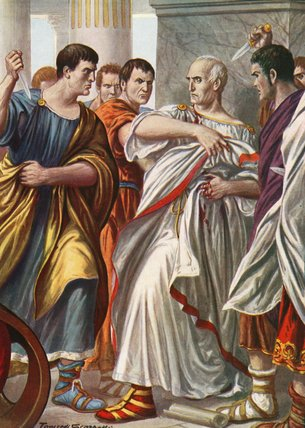 "who killed julius caesar After viewing the video ""who killed julius caesar"" i have come up with mixed ideas of what might have happened i believe the death had to do with both suicide."