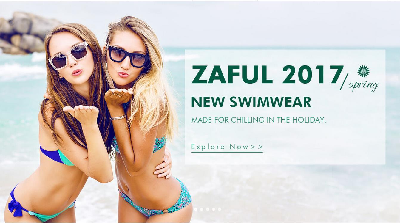Zaful 2017 Swimwear