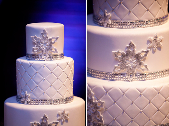 A Beautiful Winter Wedding | The Couture Cakery : wedding cake quilt pattern - Adamdwight.com