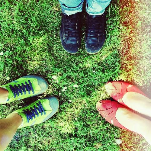 Zapatos para pisar con fuerza