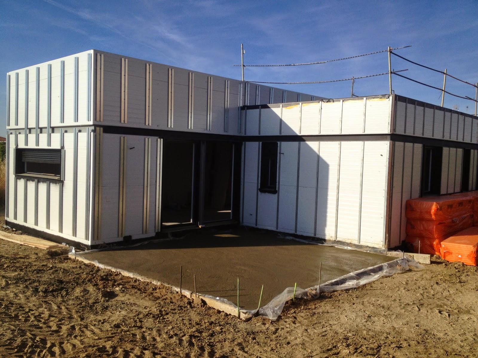 Subestructura fachada ventilada vivienda modular Resan