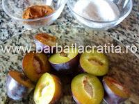 Galuste cu prune gomboti preparare reteta