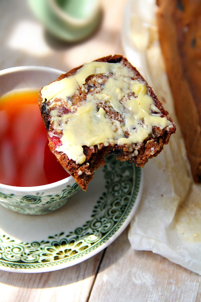 Singapore Shiok Tea Brack Tea Soaked Fruit Loaf