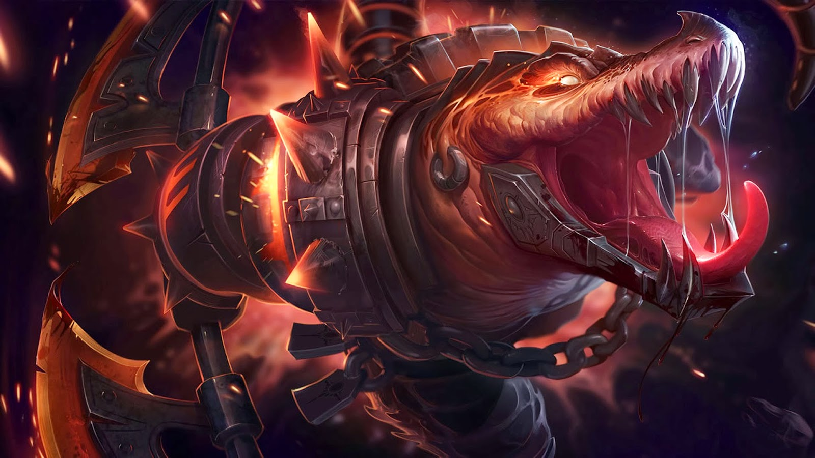 Renekton League of Legends Wallpaper