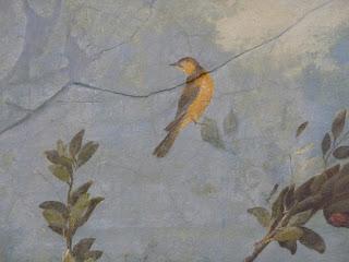 Pintura romana de la casa Livia - Museo Máximo - Roma