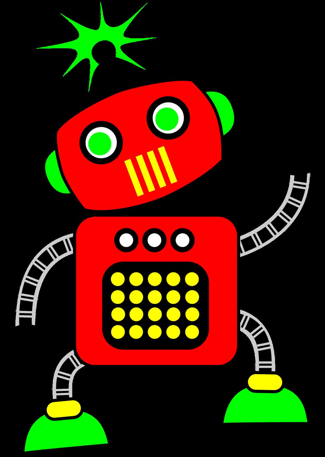 classroom treasures robot clipart rh classroomclipart blogspot com robot clip art free robot clipart