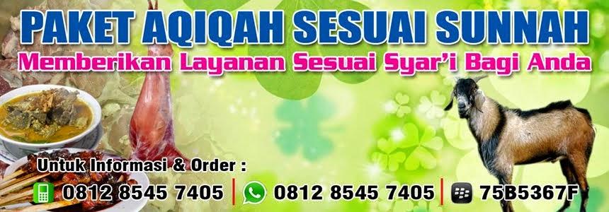 0812 8545 7405 | 75B5367F | Paket Aqiqah Sesuai Sunnah