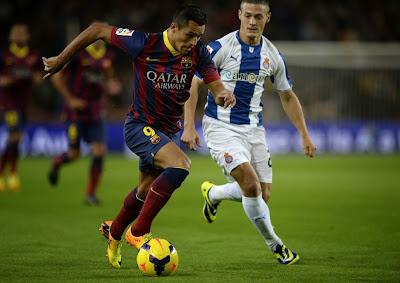 SPANISH LIGA FOOTBALL 2013