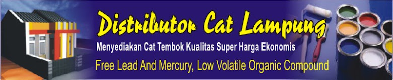 Distributor Cat Tembok Lampung