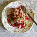 LOW FAT COUSCOUS (DALIA) POMEGRANATE SALAD