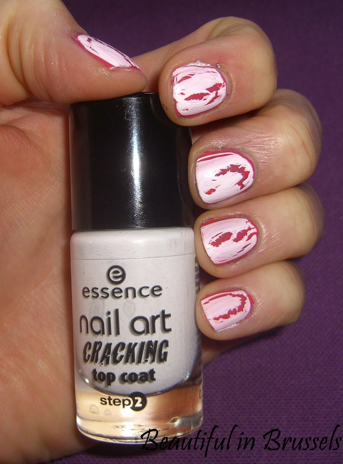 Beauty In Brussels Essence Nail Art Cracking Top Coat Review