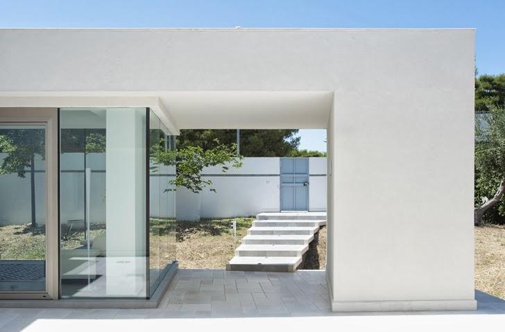 Outdoors in Modern villa Di Gioia by Pedone Working