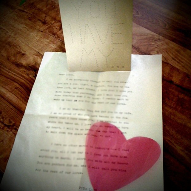 Valentines Day Love Letters For Him/Her | Read Read Loved