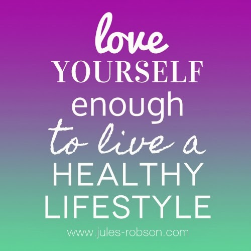 Love yourself enough to live a healthy lifestyle ~ God is ...