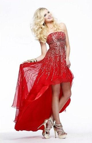 ec09a049675 High-Low Prom Dress (ZaphonProm.com Style   SHL-8300)