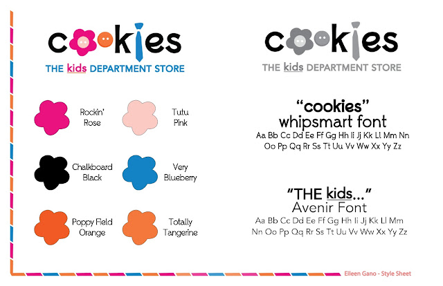 Cookies Department Store Logo Redesign