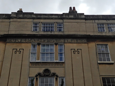 Ghost sign in Bath, Somerset