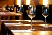 6123582 wine glasses on a table in a restaurant ZAGAT Has Posted The 10 New Rules of Dining Etiquette: How Do You Fair?
