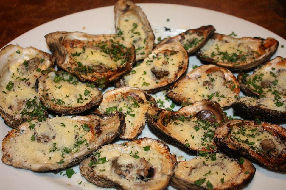 Fleur de Lolly: Char Grilled Oysters