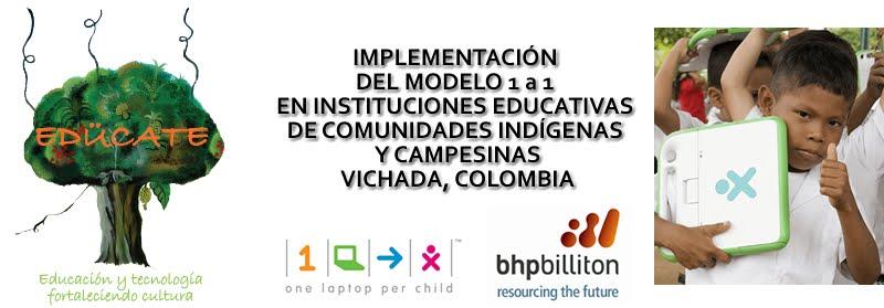 Proyecto EDUCATE - OLPC Vichada, Colombia