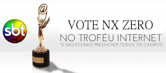 Vote NX ZERO no Troféu Internet