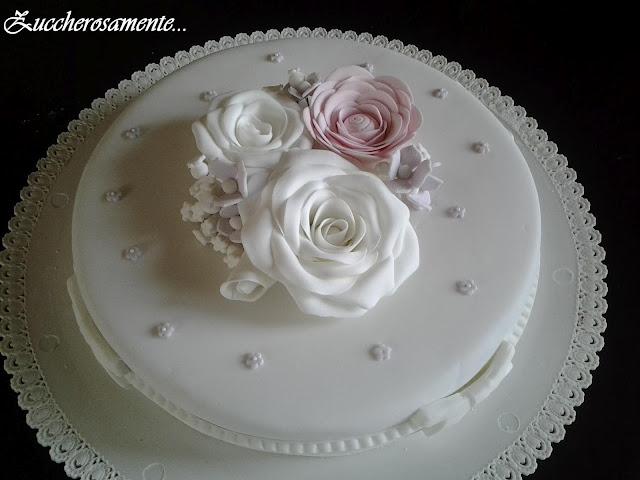 flower cake gum paste