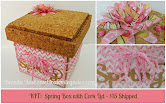 Spring Box with Cork Lid