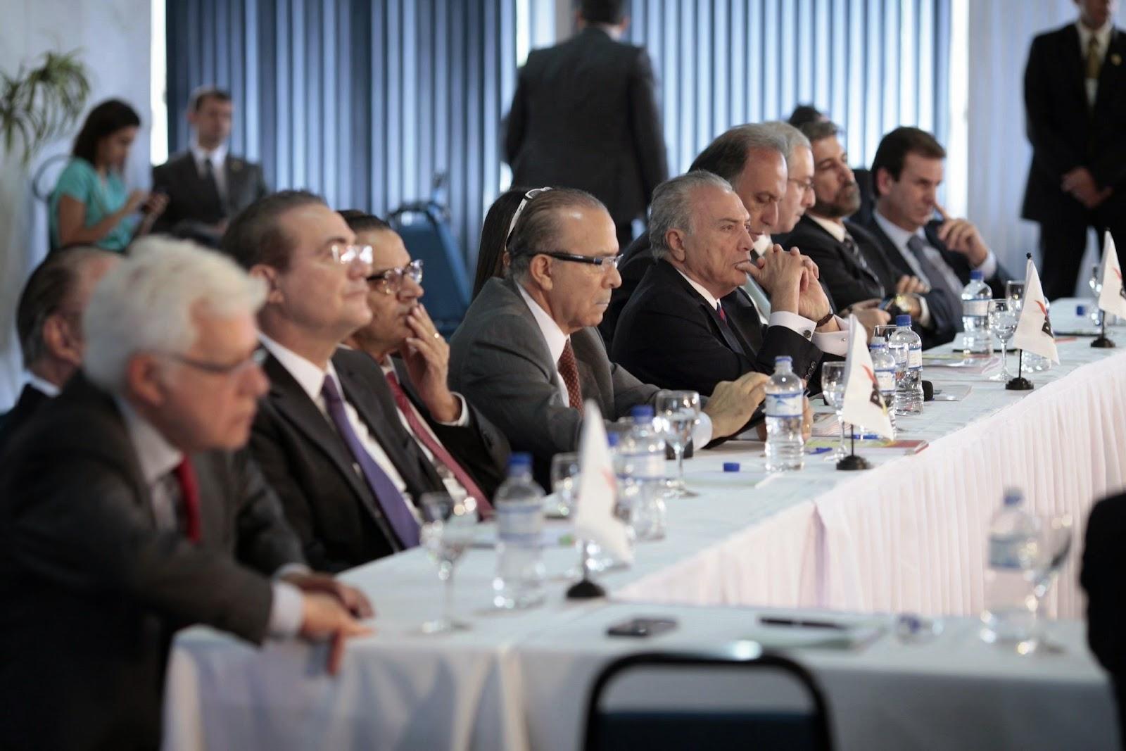 PMDB inicia o debate sobre a Reforma Política com Eliseu Padilha