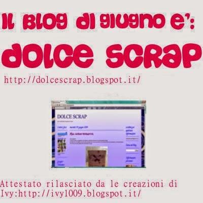 Premio blog del mese