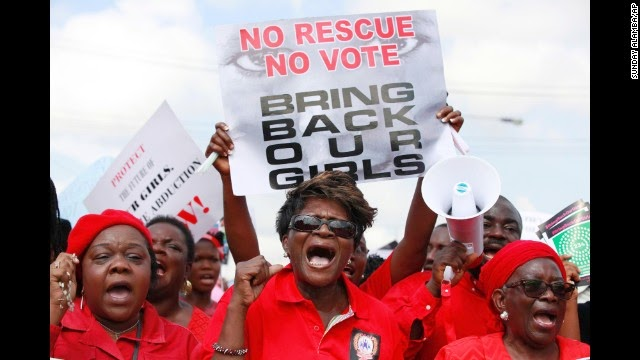 Nigeria's kidnapped girls forgotten
