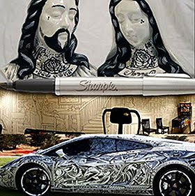 incredible Sharpie Art