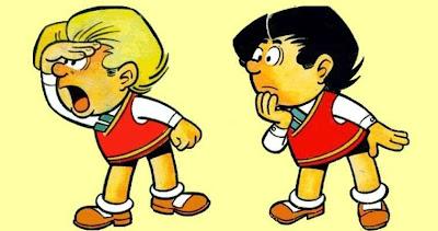 Dibujo de Zipi y Zape por Escobar