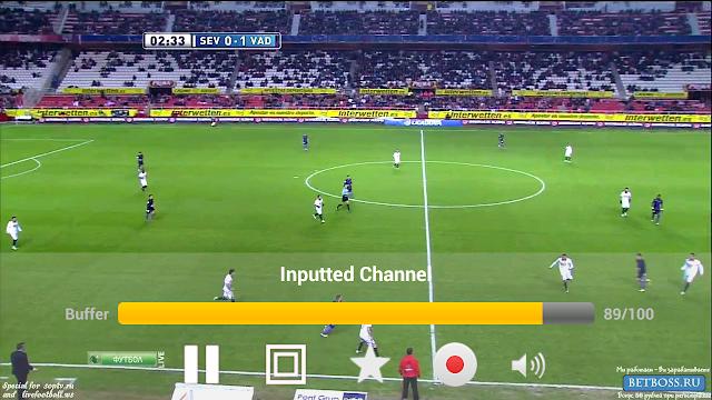 Hướng dẫn xem bóng đá trực tuyến với Sopcast trên Android