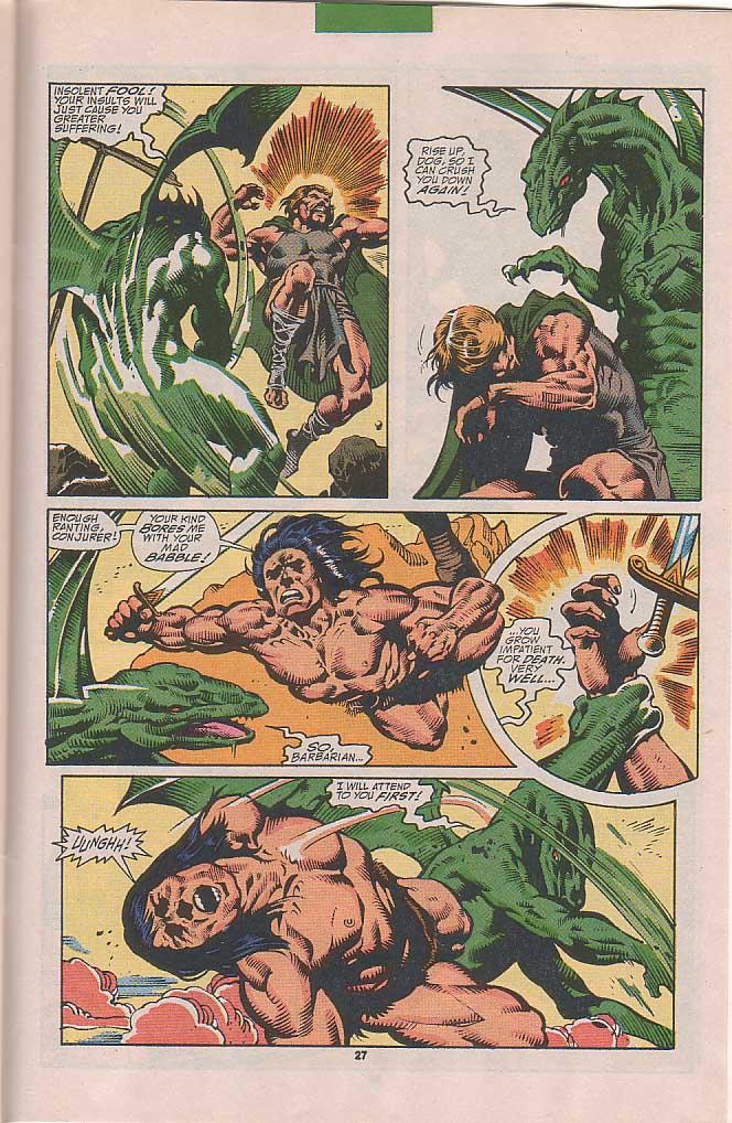 Conan the Barbarian (1970) Issue #251 #263 - English 20