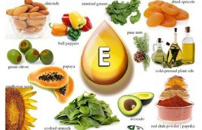 chống lão hóa da với vitamin E