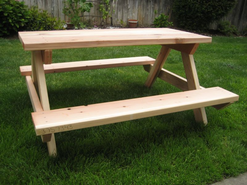 The Musings Of A Nicu Mommy Diy Child S Picnic Table