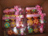 Doorgift Apam polkadot 6 biji
