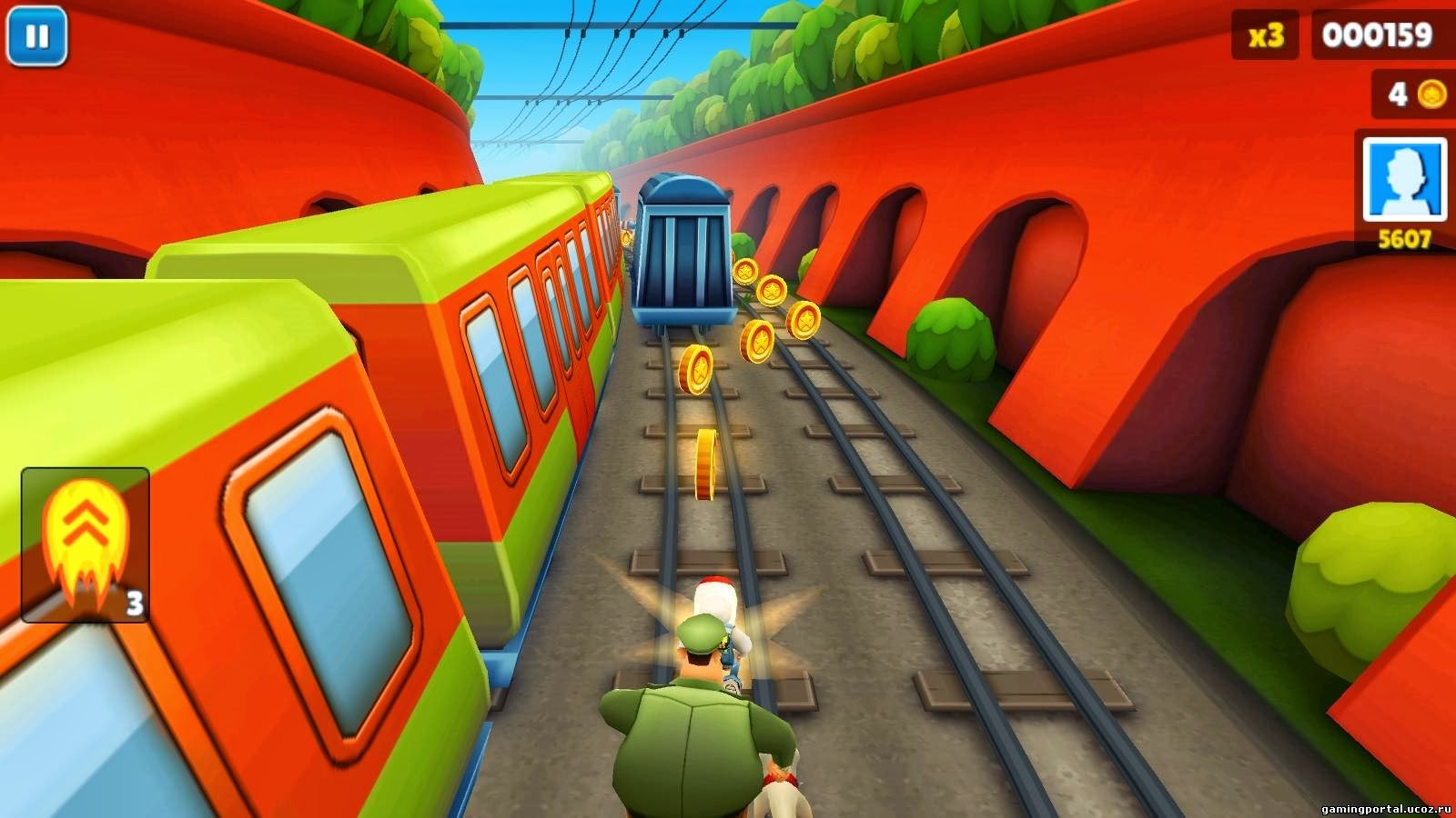 free online subway surfer games