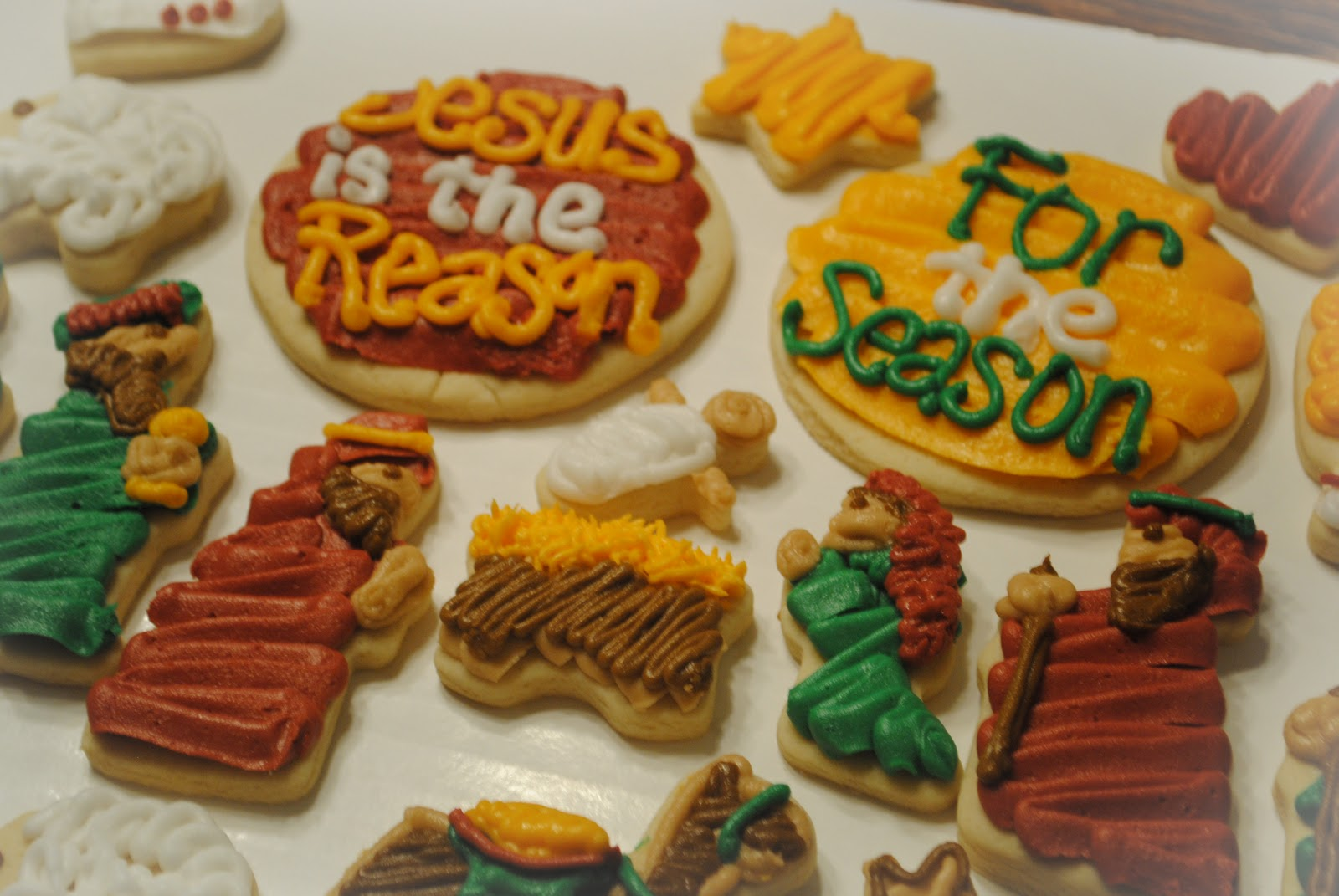 Candace S Cookie Creations Nativity Cookies