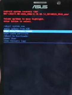 Cara Masuk Mode Recovey Pada Asus Zenfone 2