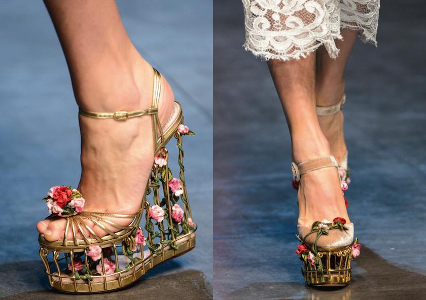 Dolce & Gabbana SHOES A/W 2013 | Born in May Дольче Габбана Обувь 2013