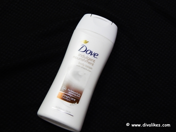 dove indulgent nourishment body lotion