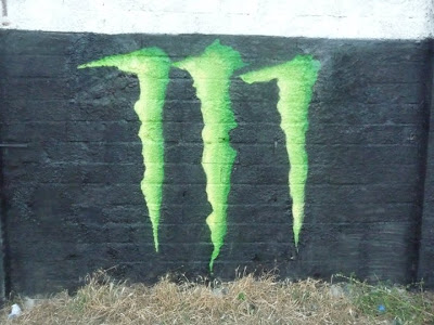Monster Energy Graffiti