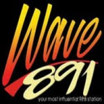 Wave 891 DWAV 89.1 MHz logo