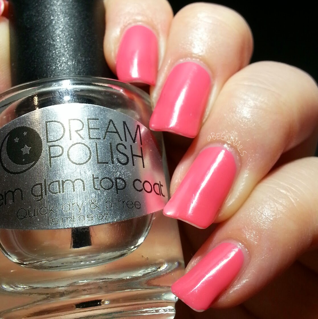 Let\'s Begin Nails: Dream Polish Top Coat and Cuticle Balm Review