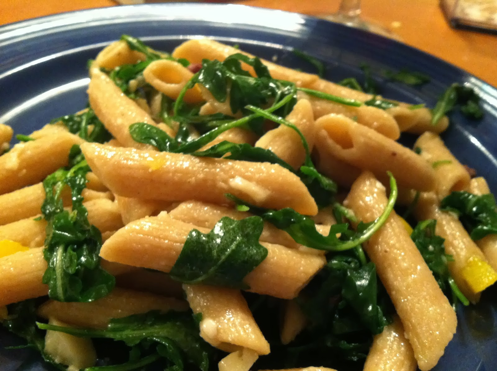 putting together various items in fridge with pasta makes a budget friendly meal. Cooking Chat tips.