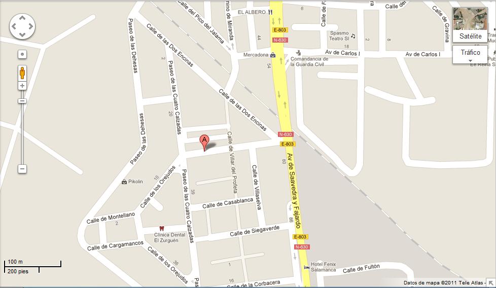 Consulados latino americanos en espa a consulado for Oficina correos salamanca