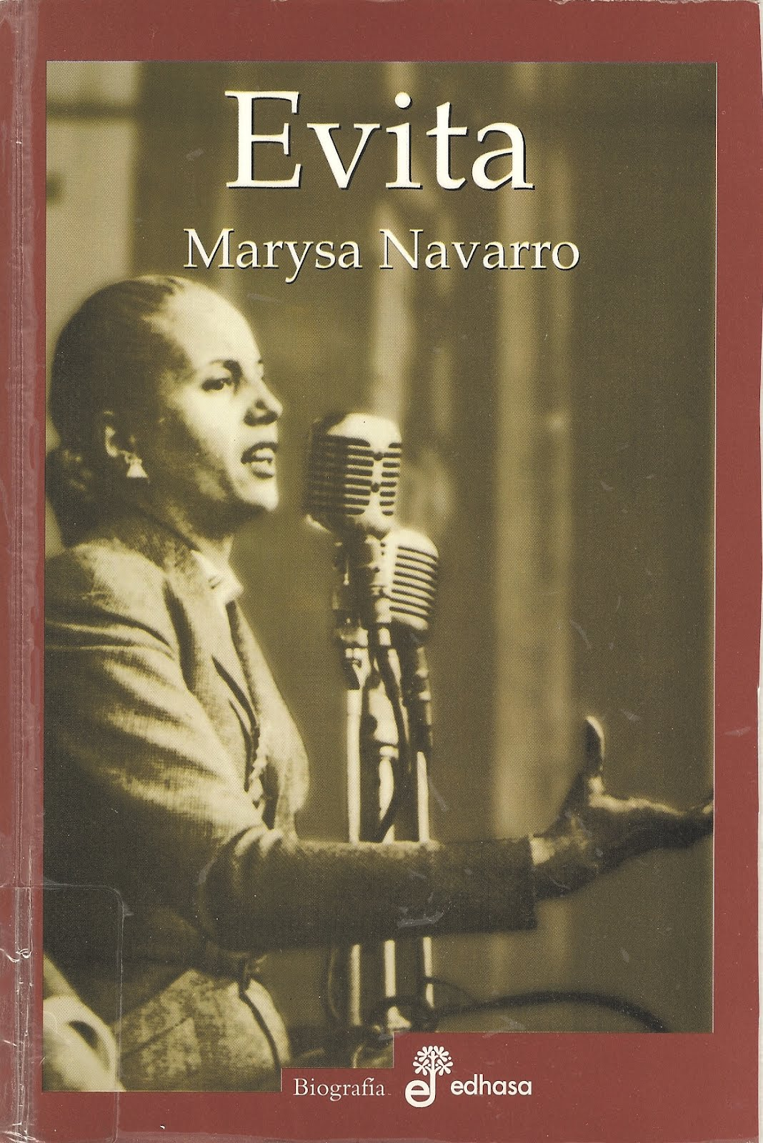 a biography of evita peron an argentine political movement My undergraduate degree is in political science from the university of     evita- first lady: a biography of eva.