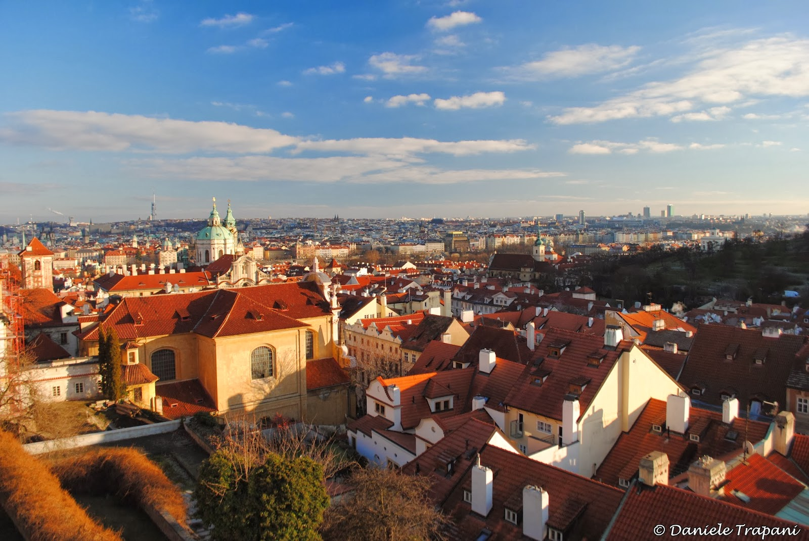 Střechy Prahy