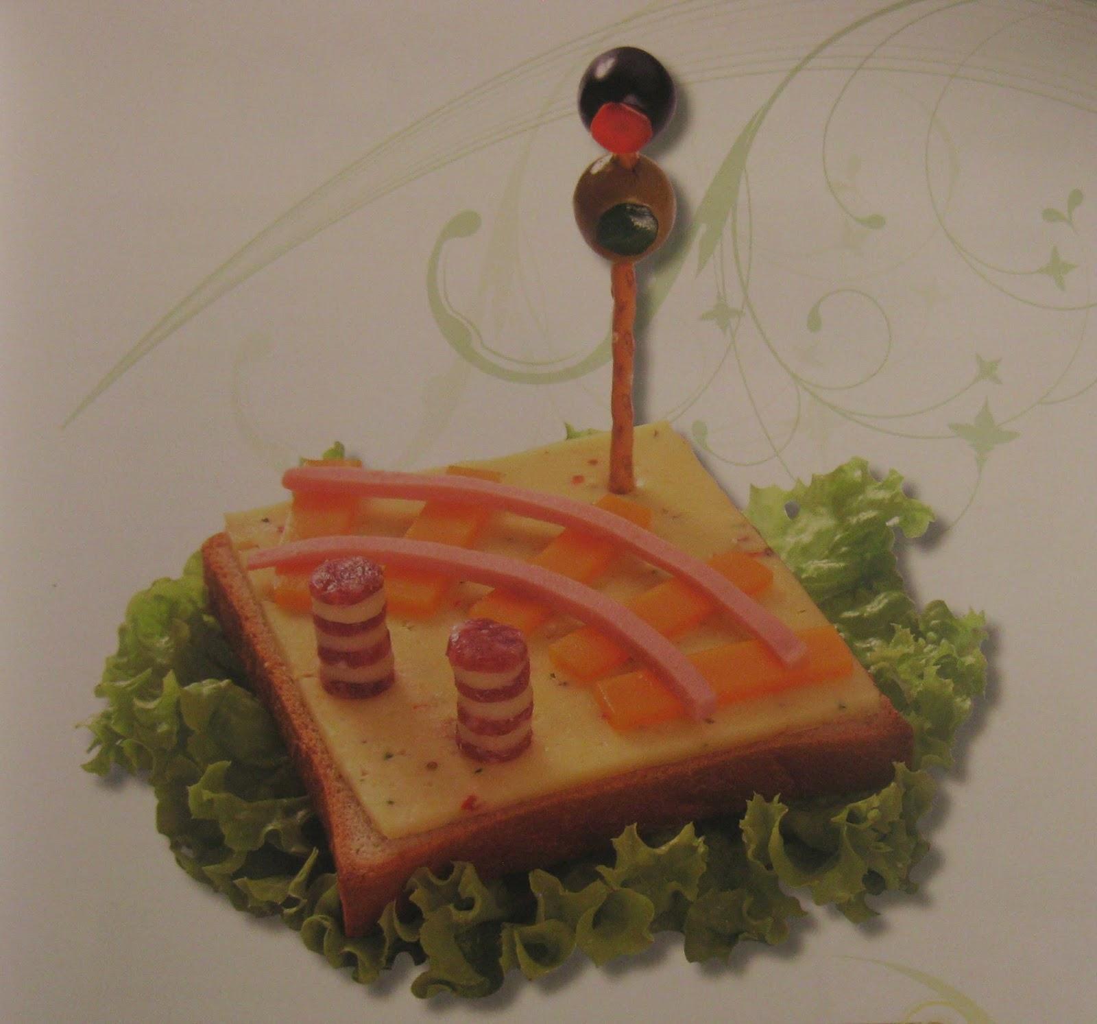 Sandwich Vias del Tren, Bocadillos con Arte